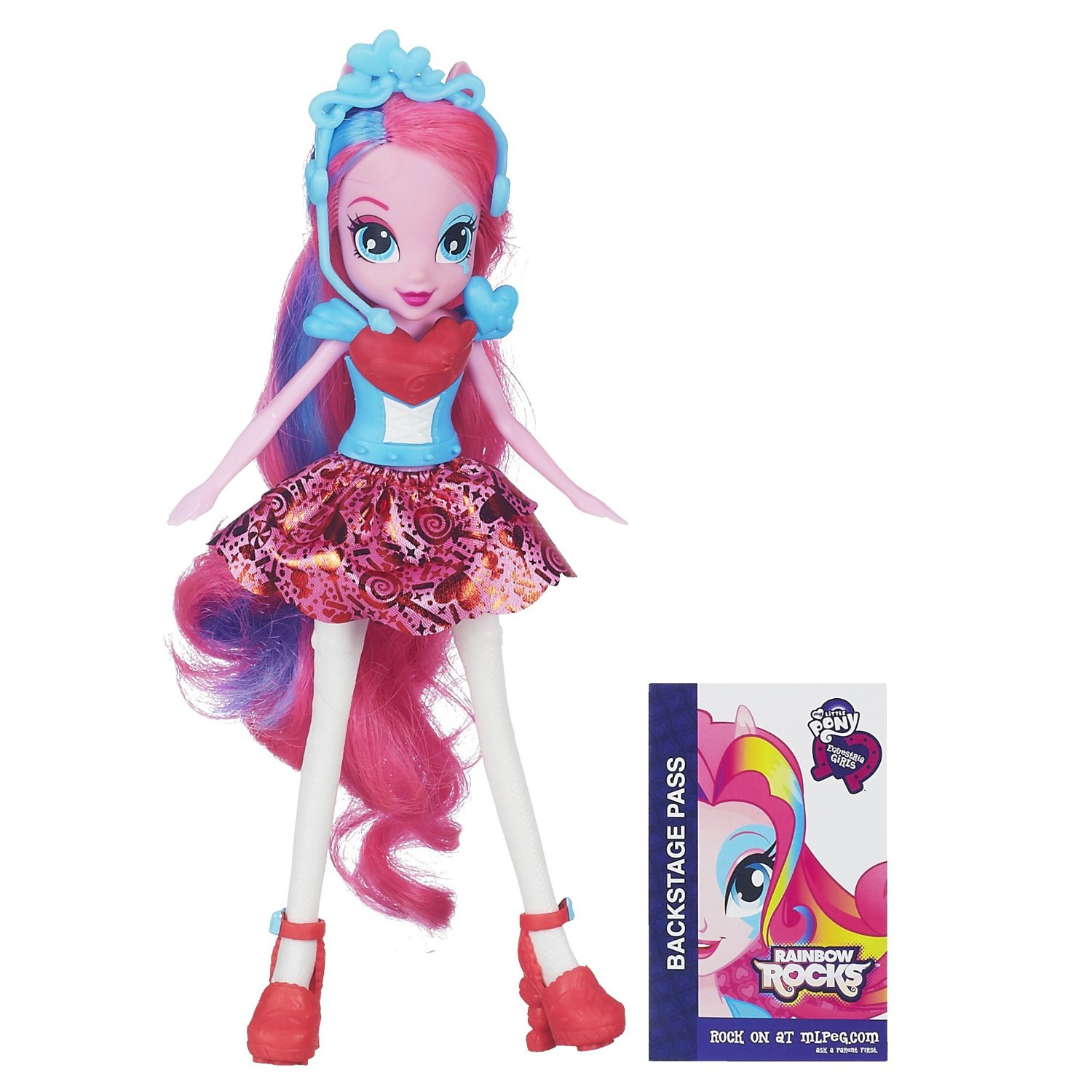 my little pony equestria girls pinkie pie doll rainbow rocks 272
