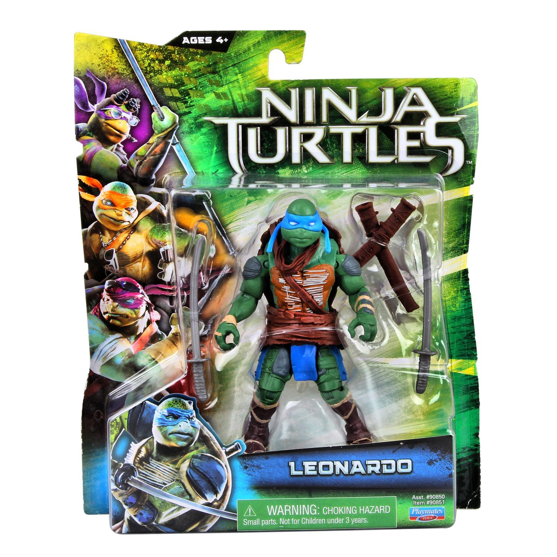 Ninja Toys For Girls : Teenage mutant ninja turtles movie leonardo basic figure